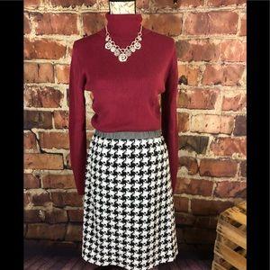 Black & White Ellen Tracy Skirt, XL